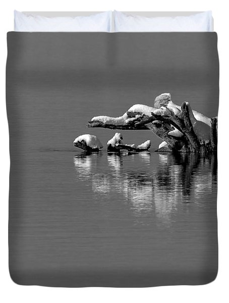 Wisconsin River Duvet Cover by Steven Ralser