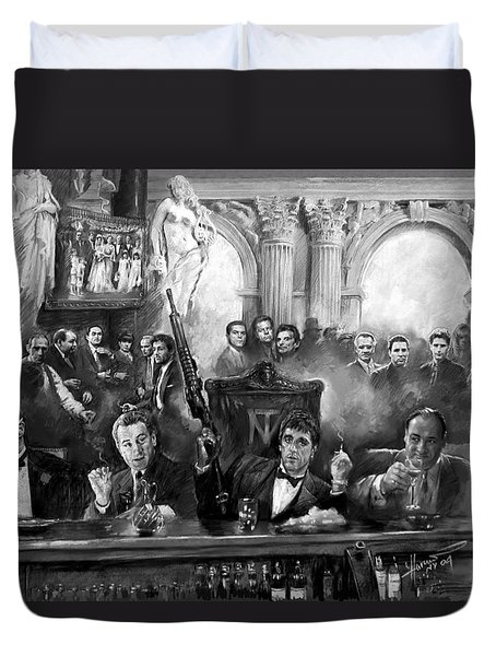 Wise Guys Duvet Cover