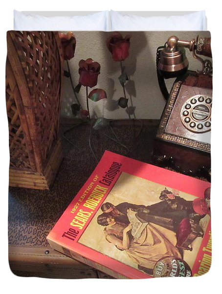 Wish Book Duvet Cover
