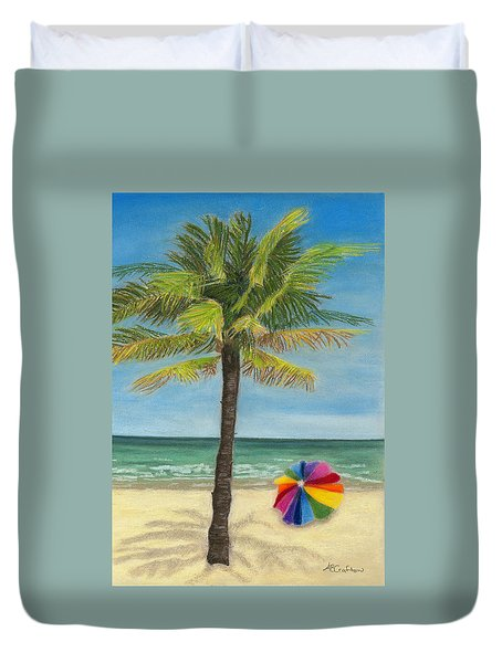 Wish I Was There Duvet Cover