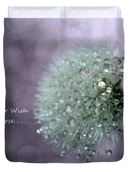 Wish To The Universe Duvet Cover