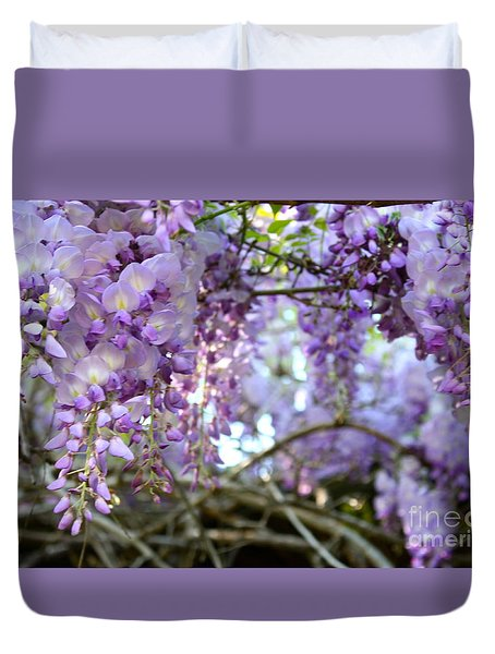 Wisteria Dream Duvet Cover