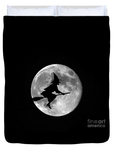 Witchy Moon Duvet Cover by Al Powell Photography USA