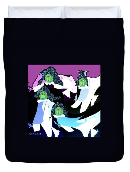 Witchy Women Duvet Cover