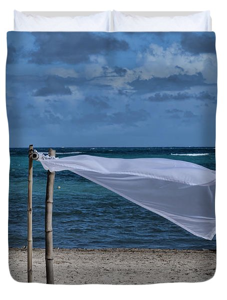 With The Wind Duvet Cover