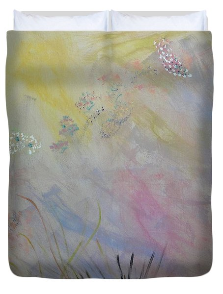 Withered Kansas Summer Duvet Cover by PainterArtist FIN