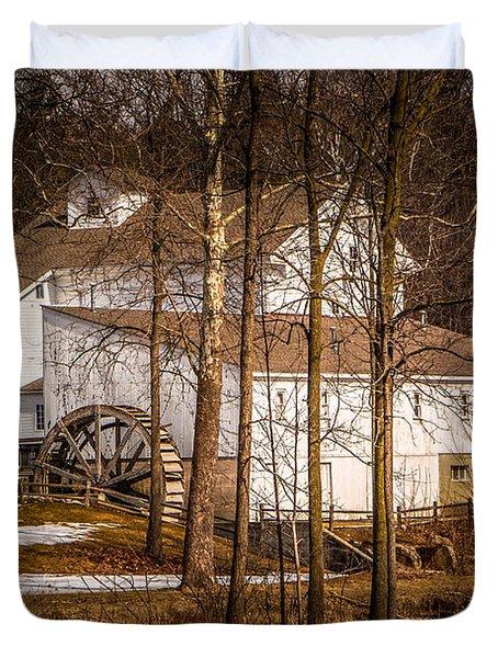 Wolcott Mill Duvet Cover by Grace Grogan