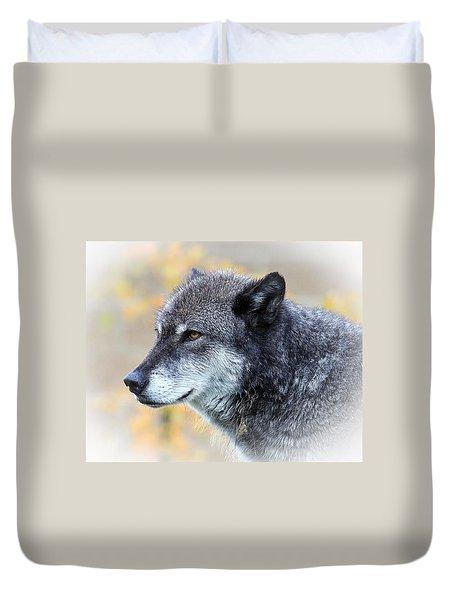 Wolf Duvet Cover by Steve McKinzie