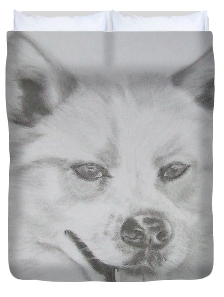 Wolf The Husky Duvet Cover