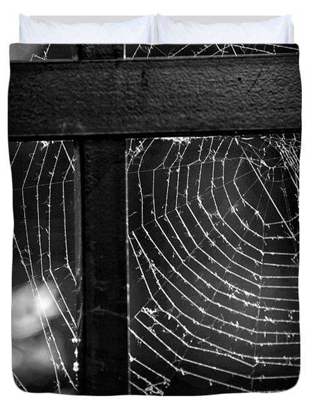 Wonder Web Duvet Cover by Carrie Ann Grippo-Pike