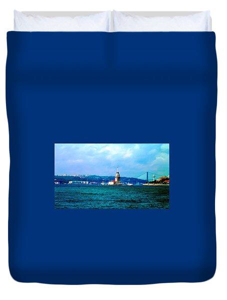 Wonders Of Istanbul Duvet Cover