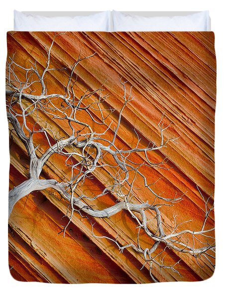 Wood And Stone Duvet Cover