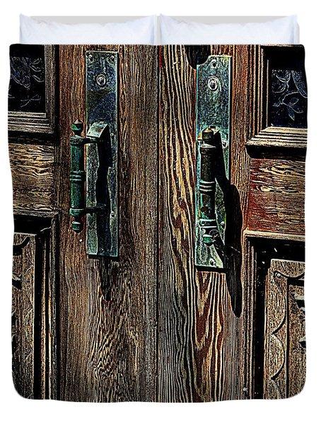 Wood Designs Duvet Cover