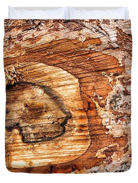 Wood Detail Duvet Cover