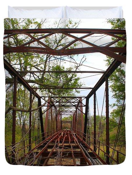 Woodburn Bridge Indianola Ms Duvet Cover