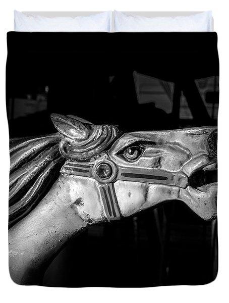 Wooden Pony Duvet Cover