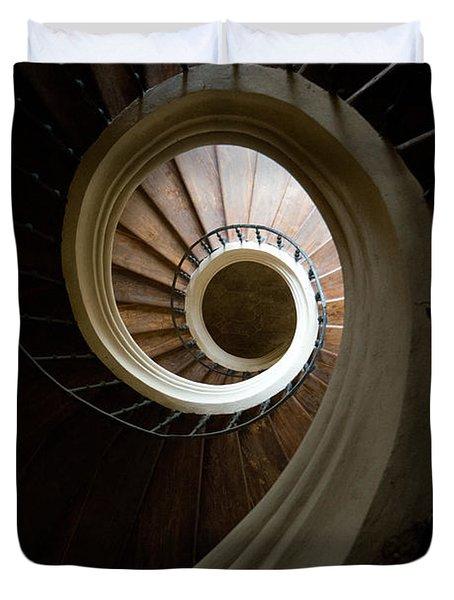 Wooden Spiral Duvet Cover