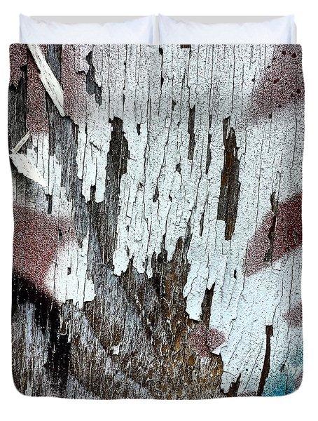 Wooden Wall 5 Duvet Cover