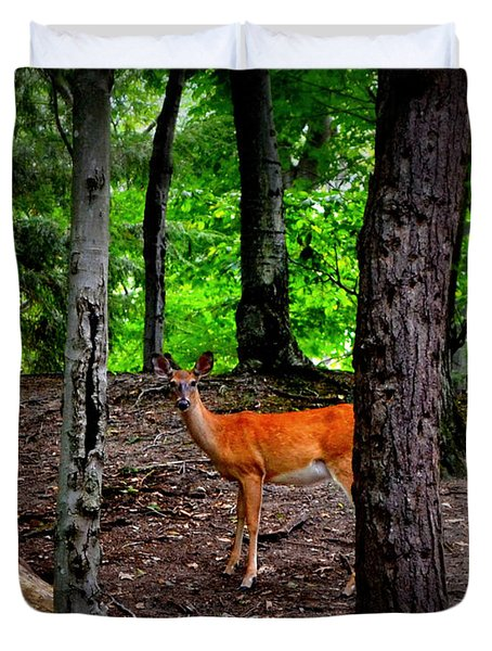 Woodland Deer Duvet Cover