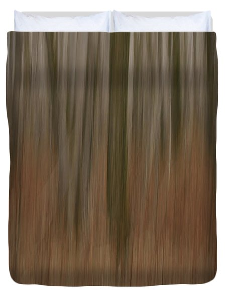 Woodland Dreams Duvet Cover by Penny Meyers