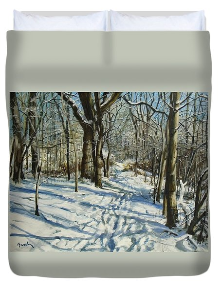 Woodland Journey Duvet Cover
