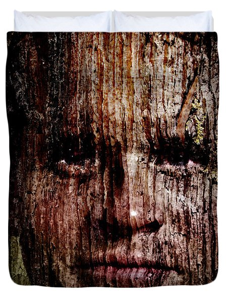 Woodland Kin Duvet Cover by Christopher Gaston