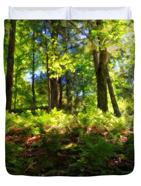 Woodland Duvet Cover by Lars Lentz