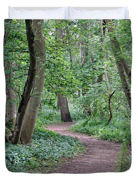 Woodland Path  Duvet Cover