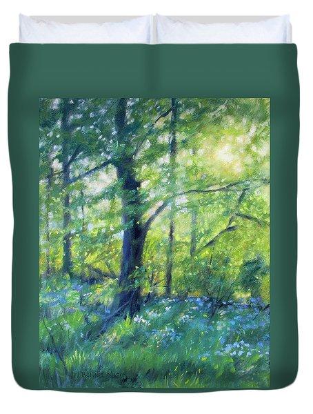 Woodland Sunset Duvet Cover