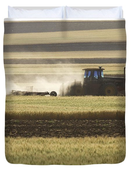 Working Farmer Duvet Cover by James BO  Insogna