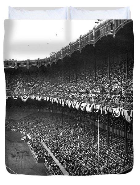 World Series In New York Duvet Cover
