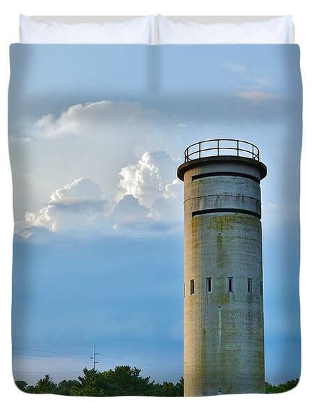 World War II Lookout Tower - Tower Road - Delaware State Park Duvet Cover