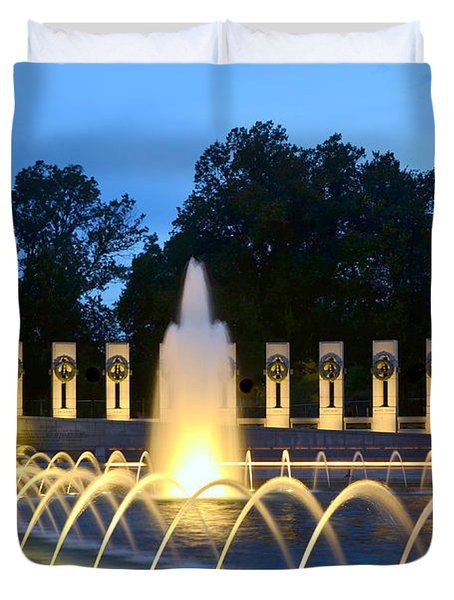 World War II Memorial Duvet Cover