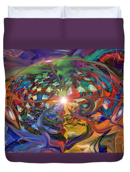 World Within A World Duvet Cover