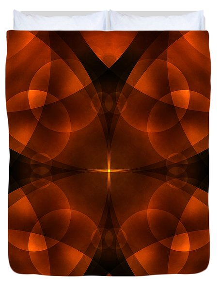 Worlds Collide 16 Duvet Cover by Mike McGlothlen