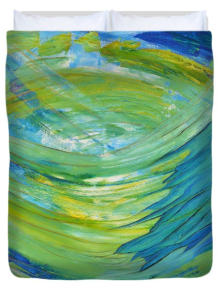 Worship Duvet Cover by Cassie Sears