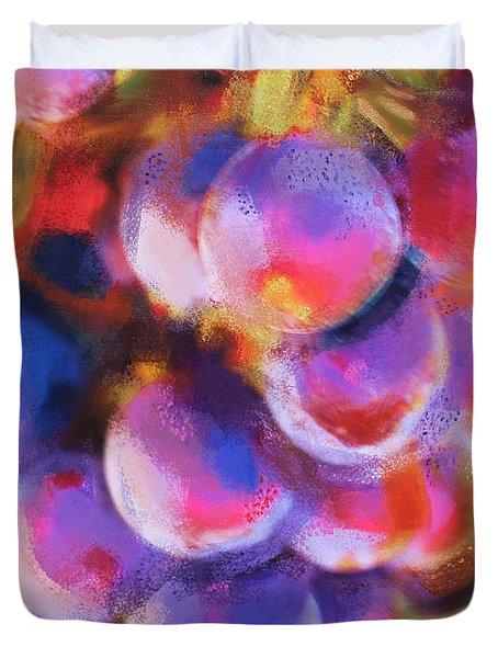 Wrath Of Grapes Duvet Cover