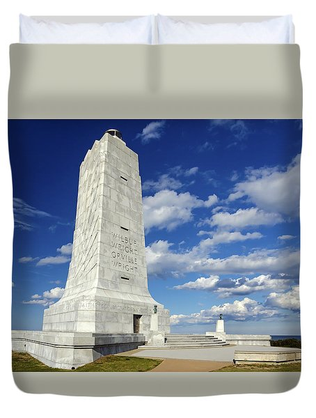 Wright Brothers Memorial D Duvet Cover