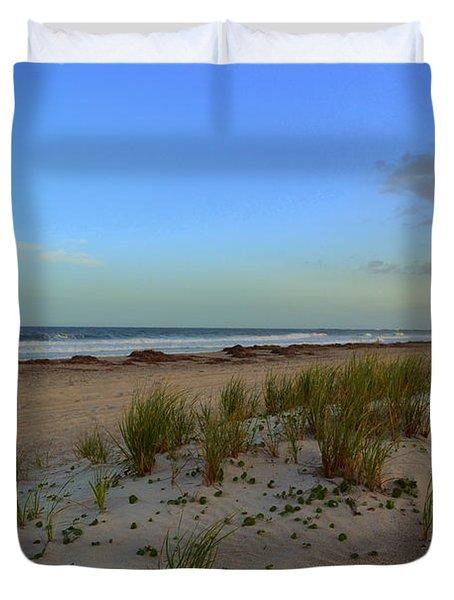 Wrightsville Beach Dune Duvet Cover