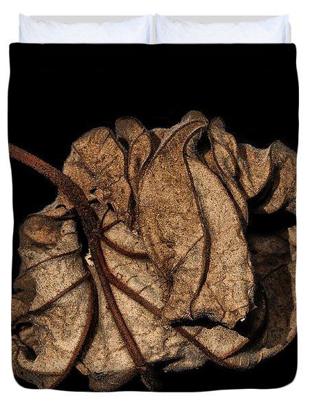 Wrinkled Beauty Duvet Cover