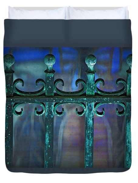Wrought Iron Duvet Cover