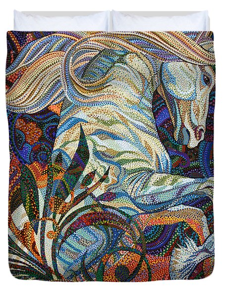 Wuthering Heights Duvet Cover by Erika Pochybova