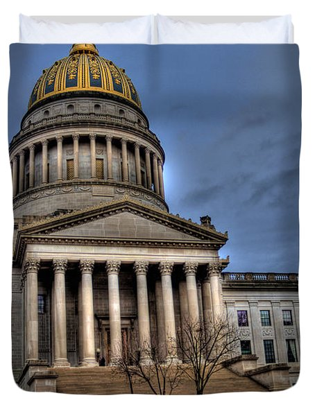 Wv Capital Building 2 Duvet Cover by Jonny D