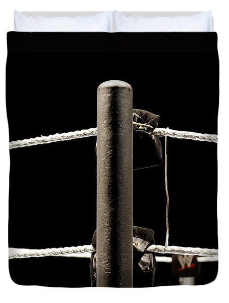 Wwe Ringside Duvet Cover