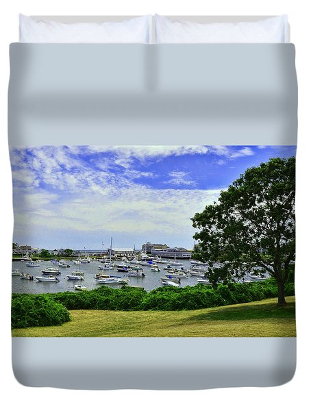 Wychmere Harbor Duvet Cover by Allen Beatty