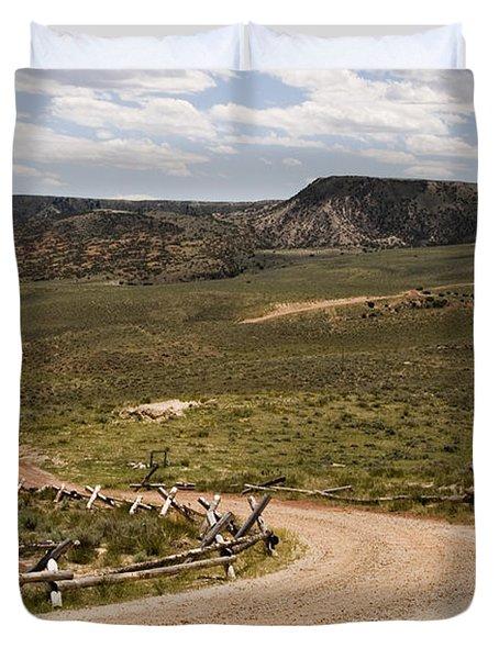 Wyoming Duvet Cover