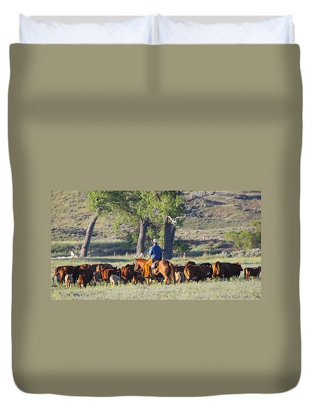 Wyoming Country Duvet Cover