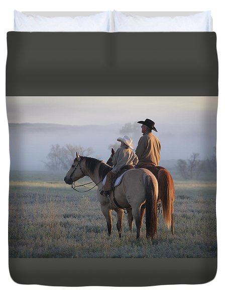 Wyoming Ranch Duvet Cover