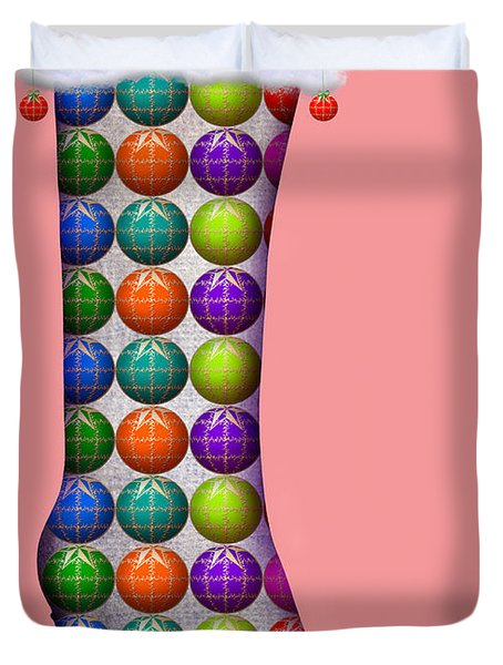 Xmas Kinky Pink Duvet Cover