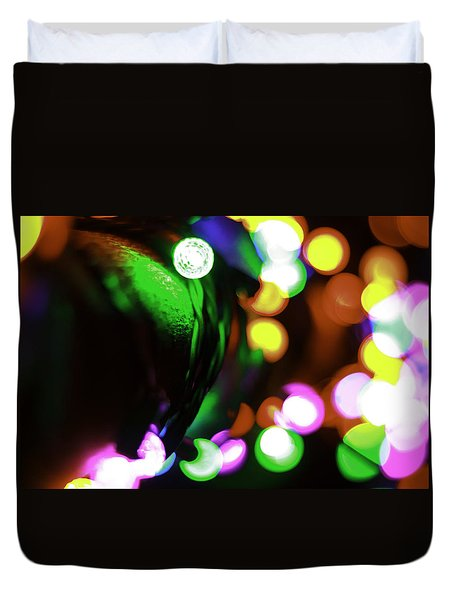 Xmas Lite Duvet Cover by Michael Nowotny
